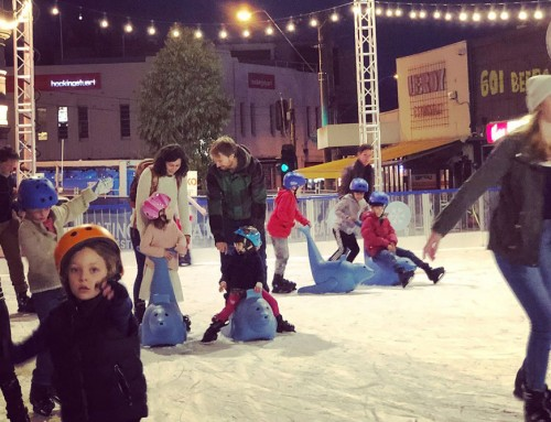 Winter Fun in Acland Street!!