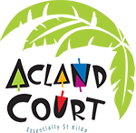 Acland Court Shopping Centre, St Kilda Logo